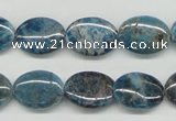 CAP09 15.5 inches 12*16mm oval apatite gemstone beads wholesale
