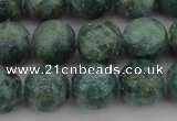CAP502 15.5 inches 10mm round natual green apatite beads