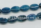 CAP62 15.5 inches 8*12mm oval dyed apatite gemstone beads wholesale