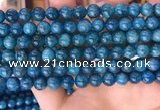 CAP637 15.5 inches 8mm round natural apatite gemstone beads