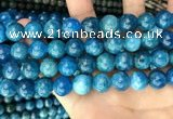 CAP654 15.5 inches 12mm round natural apatite beads wholesale