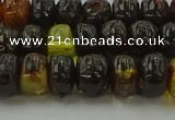 CAR532 15.5 inches 5*8mm rondelle natural amber beads wholesale