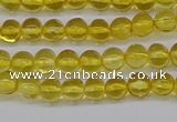 CAR558 15.5 inches 4mm - 4.5mm round natural amber beads wholesale