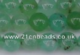CAU352 15.5 inches 8mm round Australia chrysoprase beads