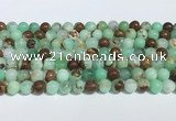CAU483 15.5 inches 6mm round Australia chrysoprase beads