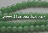 CBJ342 15.5 inches 6mm round AAA grade natural jade beads