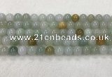 CBJ622 15.5 inches 8mm round jade beads wholesale