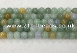 CBJ628 15.5 inches 10mm round jade beads wholesale
