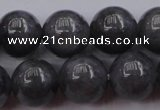 CBJ652 15.5 inches 10mm round black jade beads wholesale
