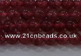 CBQ621 15.5 inches 6mm round strawberry quartz beads wholesale