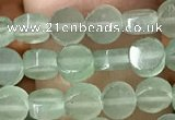 CCB513 15.5 inches 4mm coin green aventurine beads wholesale