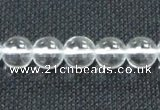 CCC278 15.5 inches 8mm round A grade natural white crystal beads