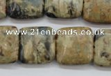 CCD02 15.5 inches 20*20mm square cordierite beads wholesale