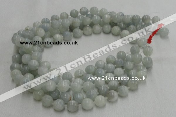 CCE02 16 inches 8mm round celestite gemstone beads wholesale