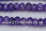 CCG121 15.5 inches 4*7mm rondelle charoite gemstone beads