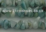 CCH676 15.5 inches 4*6mm - 5*8mm larimar gemstone chips beads