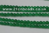 CCN1338 15.5 inches 3mm round candy jade beads wholesale