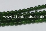 CCN14 15.5 inches 4mm round candy jade beads wholesale