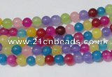 CCN18 15.5 inches 4mm round candy jade beads wholesale