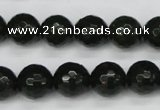 CCN1924 15 inches 12mm faceted round candy jade beads wholesale