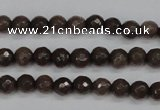 CCN1930 15 inches 4mm faceted round candy jade beads wholesale