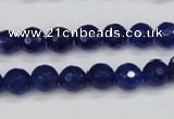 CCN1962 15 inches 8mm faceted round candy jade beads wholesale