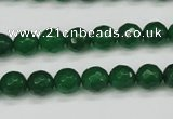 CCN1973 15 inches 10mm faceted round candy jade beads wholesale