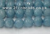 CCN2017 15 inches 8mm faceted round candy jade beads wholesale