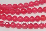 CCN23 15.5 inches 6mm round candy jade beads wholesale