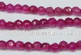 CCN2811 15.5 inches 3mm tiny faceted round candy jade beads