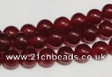 CCN35 15.5 inches 8mm round candy jade beads wholesale