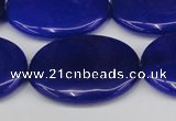 CCN3995 15.5 inches 30*40mm oval candy jade beads wholesale