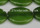 CCN3996 15.5 inches 30*40mm oval candy jade beads wholesale