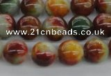 CCN4051 15.5 inches 10mm round candy jade beads wholesale