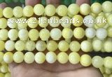 CCN5009 15.5 inches 8mm & 10mm round candy jade beads wholesale