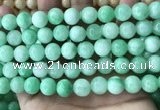 CCN5017 15.5 inches 8mm & 10mm round candy jade beads wholesale