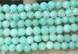 CCN5052 15.5 inches 8mm & 10mm faceted round candy jade beads