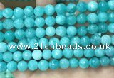 CCN5053 15.5 inches 8mm & 10mm faceted round candy jade beads