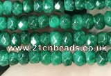 CCN5121 15 inches 3*4mm faceted rondelle candy jade beads