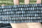 CCN5162 15 inches 5*8mm faceted rondelle candy jade beads