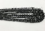 CCN5215 6mm - 14mm faceted round candy jade graduated beads