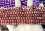 CCN5279 15 inches 6mm round candy jade beads Wholesale