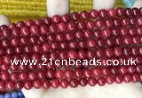 CCN5280 15 inches 6mm round candy jade beads Wholesale