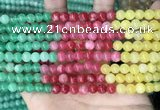 CCN5297 15 inches 6mm round candy jade beads Wholesale