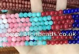 CCN5298 15 inches 6mm round candy jade beads Wholesale