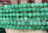 CCN5418 15 inches 8mm round candy jade beads Wholesale