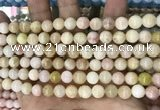 CCN5472 15 inches 8mm round candy jade beads Wholesale