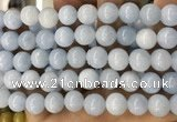 CCN5502 15 inches 8mm round candy jade beads Wholesale