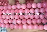 CCN5533 15 inches 8mm round candy jade beads Wholesale