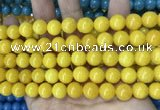 CCN5545 15 inches 8mm round candy jade beads Wholesale